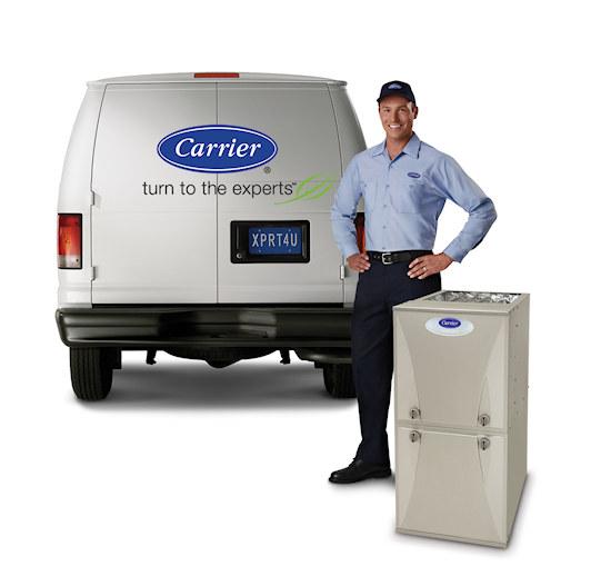 Carrier Furnace Man with Van Expert